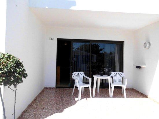 Relaxia Olivina: terrasse de l'appartement