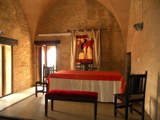 Alcázar de la Puerta de Sevilla: Salon de los Presos внутри