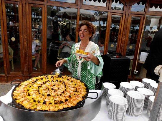 Relaxia Olivina: soirée paella et mojito présentée par q.c.