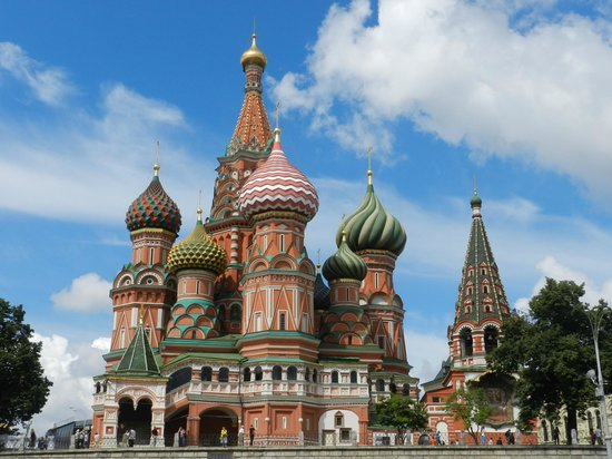 Novotel Moscow Centre : Catedral de San Basilio(Moscú)
