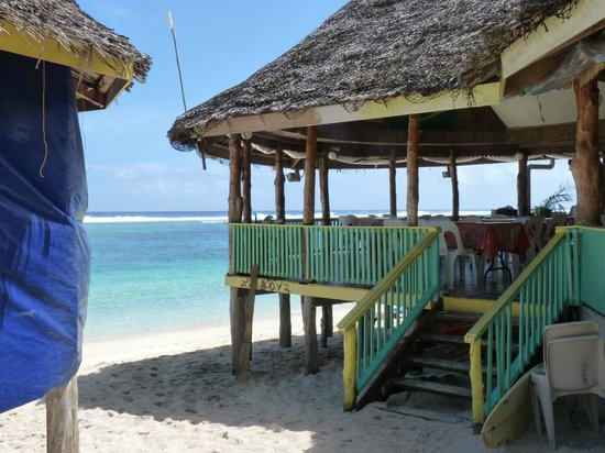 Taufua Beach Fales : The Restaurant Main Fale