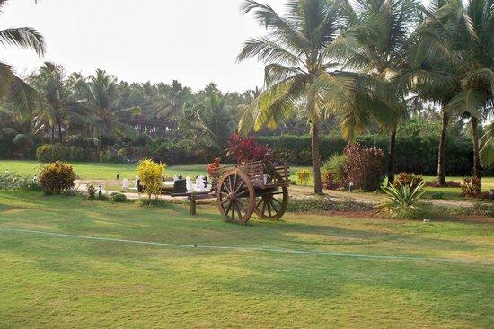 Royal Orchid Beach Resort & Spa, Goa: Garden