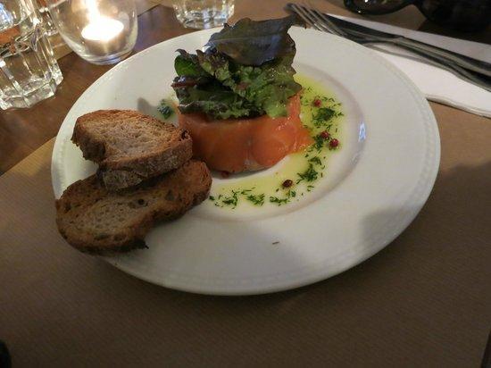 Restaurant Bouche en Folie : Salmon fume