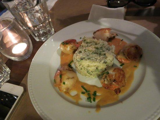 Restaurant Bouche en Folie : St Jaques