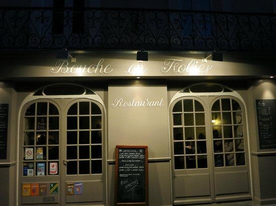 Restaurant Bouche en Folie : Entrance
