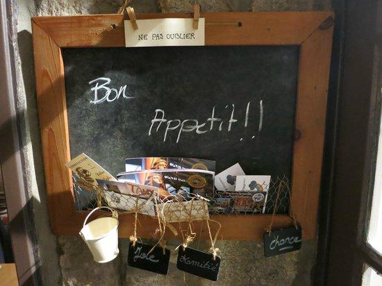 Restaurant Bouche en Folie : Bon Appetit!