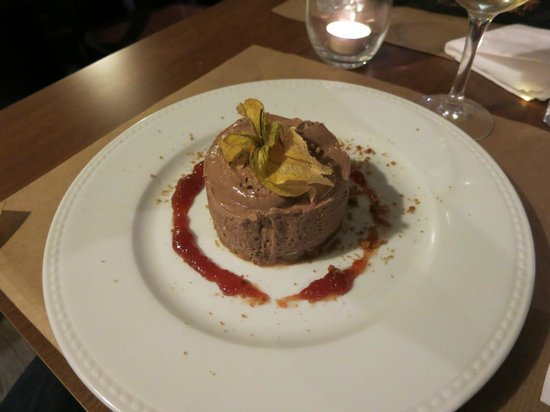 Restaurant Bouche en Folie : Chocolate cheesecake