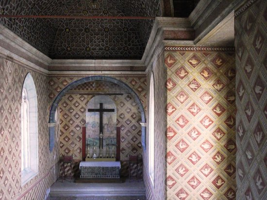 Palacio Nacional de Sintra: Manueline Chapel with Mudajer Ceiling