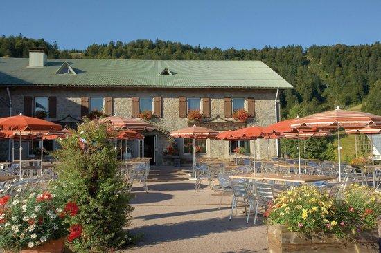 Hotel de l'Ermitage: Une terrasse agréable