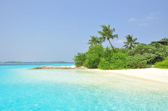 Four Seasons Resort Maldives at Kuda Huraa: SPA island of FS at Kuda Huraa