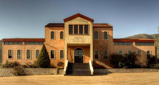 Domaine Skouras Winery: Our winery, open for visitors! Educational tours and tastings, events!