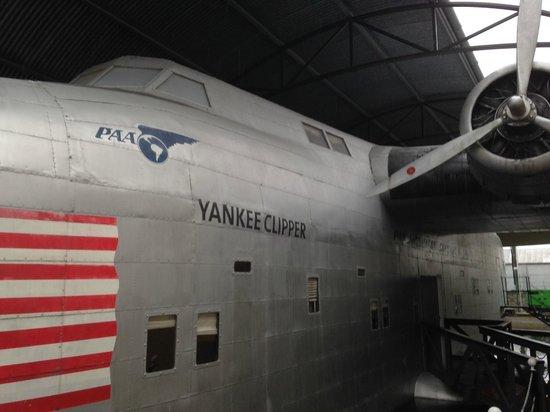 Foynes Flying Boat Museum : Model Boeing 314 flying boat