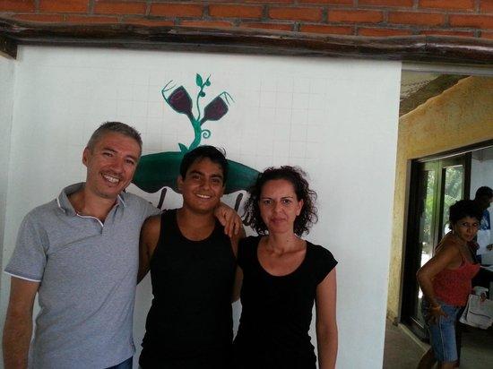 Pacha Tulum: foto del giorno di partenza con il dolcissimo Renatino