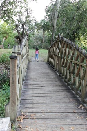 Koreshan State Historic Site: bridge