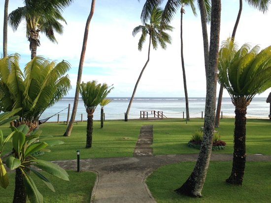 Fiji Hideaway Resort & Spa: A view from our room