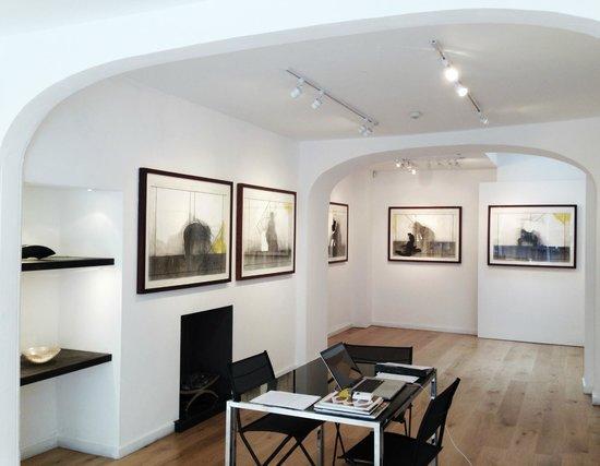 Quest Gallery Interior - Exhibition Michael Kenny RA