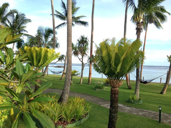 Fiji Hideaway Resort & Spa: A view of the grounds