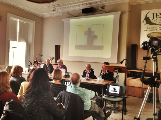 Quest Gallery: Panel Discussion, Michael Kenny RA at BRLSI Bath, 15 March 2014