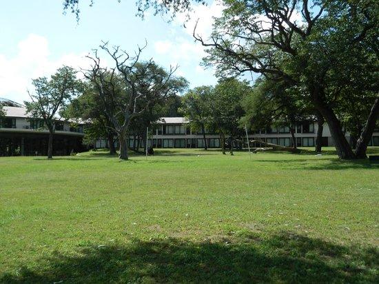 Hwange Safari Lodge: view of hotel