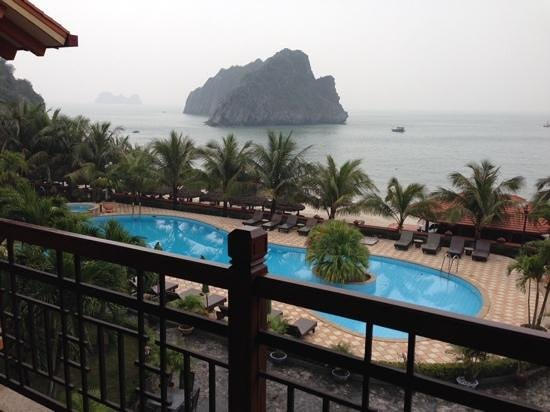 Catba Sunrise Resort : view from the room