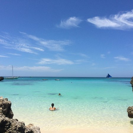Argonauta Boracay: Bliss! Baling Hai beach beauty!
