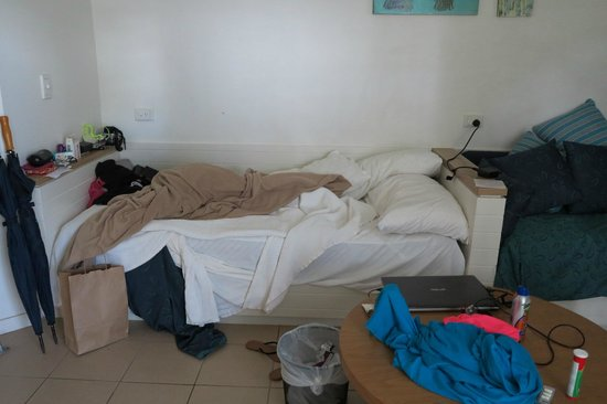 Heron Island Resort: After the cleaner , she missed making the bed