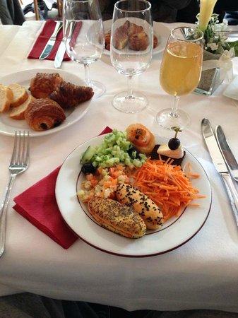 Cafe Restaurant du Parc des Bastions: Miammmm un delice se brunch