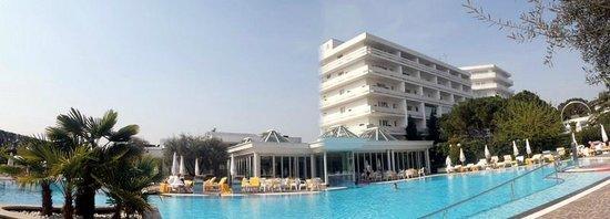 Hotel Terme Tritone Thermae & Spa : Vue du jardin