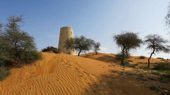 Banyan Tree Al Wadi: Weg zum Safron-Restaurant
