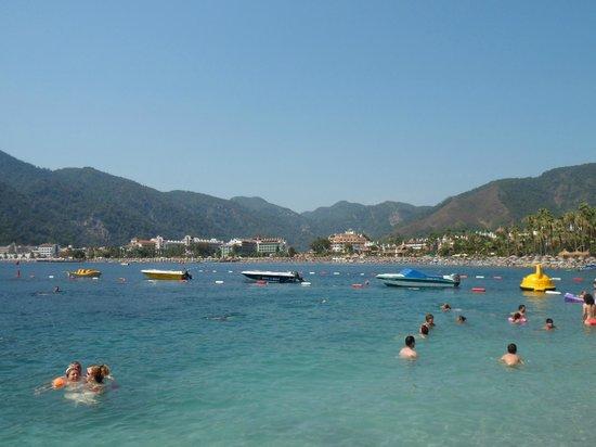 Pineta Park: beach is 5 min walk