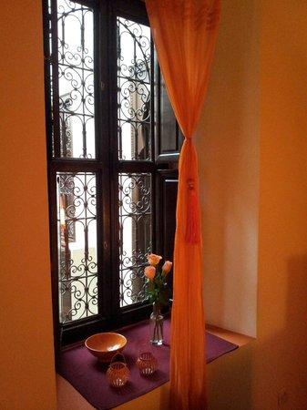 Riad Boussa : La chambre avec mezanine