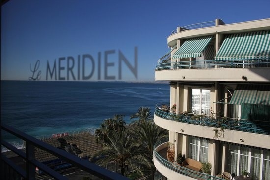 Le Meridien Nice: View from the room