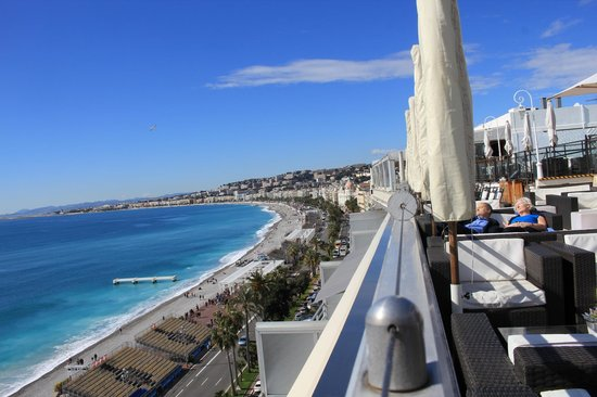 Le Meridien Nice: View from the Terrace