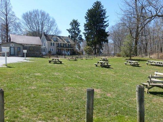 Woodside Farm Creamery : Woodside Farm Picnic Tables