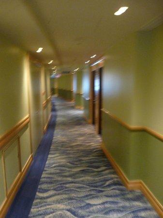 Hilton Durban: couloir hôtel