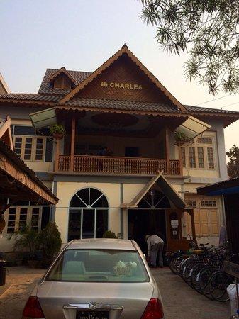 Hsipaw, Myanmar: entrance
