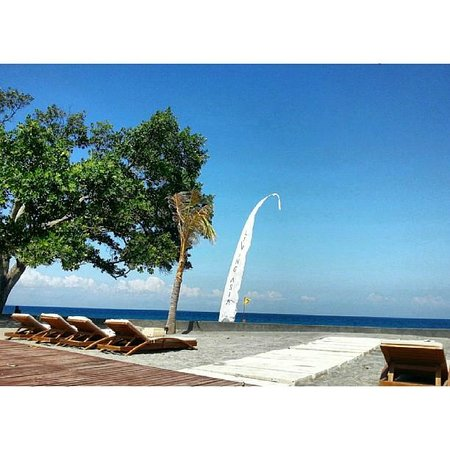 Living Asia Resort and Spa Lombok : The view from the pool is unobstructed