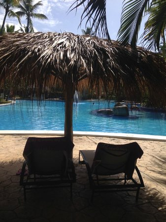 Paradisus Punta Cana Resort: Pool view