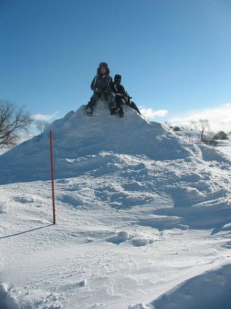 Holiday Inn Express Quebec City (Sainte-Foy): Snow Drift - Plains of Abraham