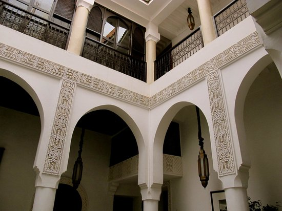 Riad Dar Saad : View from Dining Area