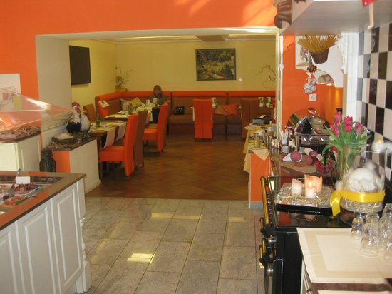 Hotel Villa Monte Vino: Frühstücksraum