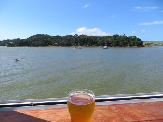 Mangonui Fish Shop: View from restaurant
