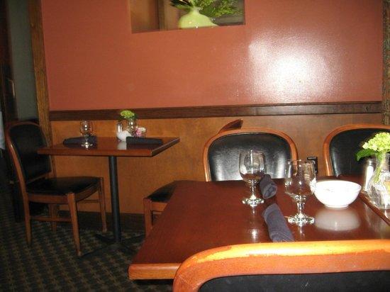 Swamp Fox Restaurant: Dining area