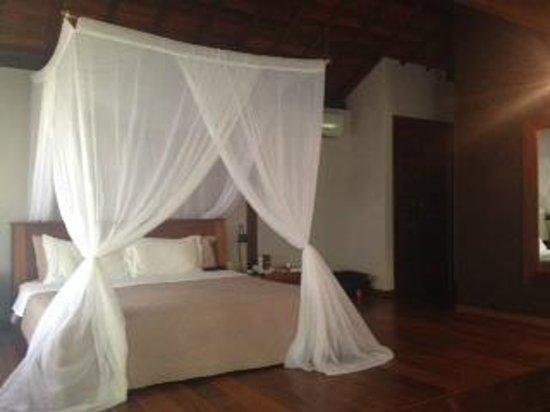 Hotel Vila dos Orixas: Bangalô superior.