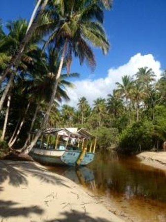 Hotel Vila dos Orixas: Outro rio da Praia do Encanto.