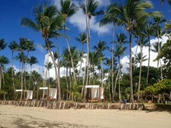 Hotel Vila dos Orixas: Área da praia.