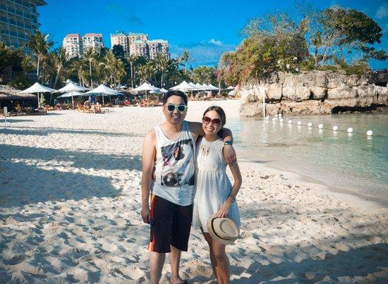 Shangri-La's Mactan Resort & Spa: beach front