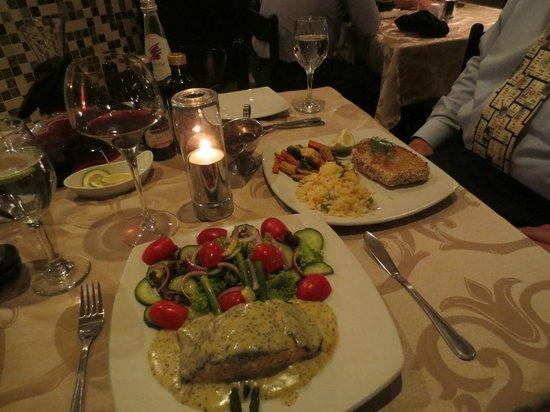 Villa Bianca: Scottish Salmon, Tuna