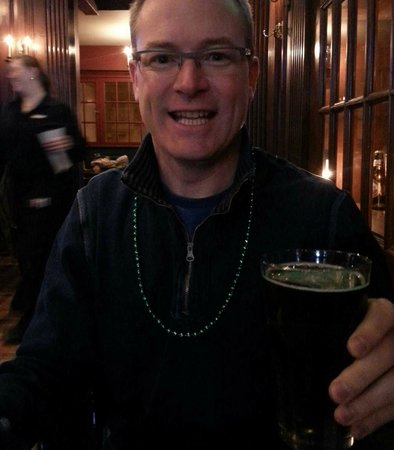 Omni William Penn Hotel: Green Beer on St.Paddy's Day