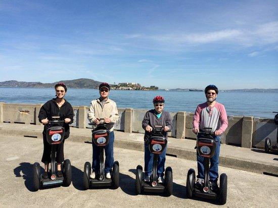 City Segway Tours San Francisco : March 19th segway tour of San Francisco